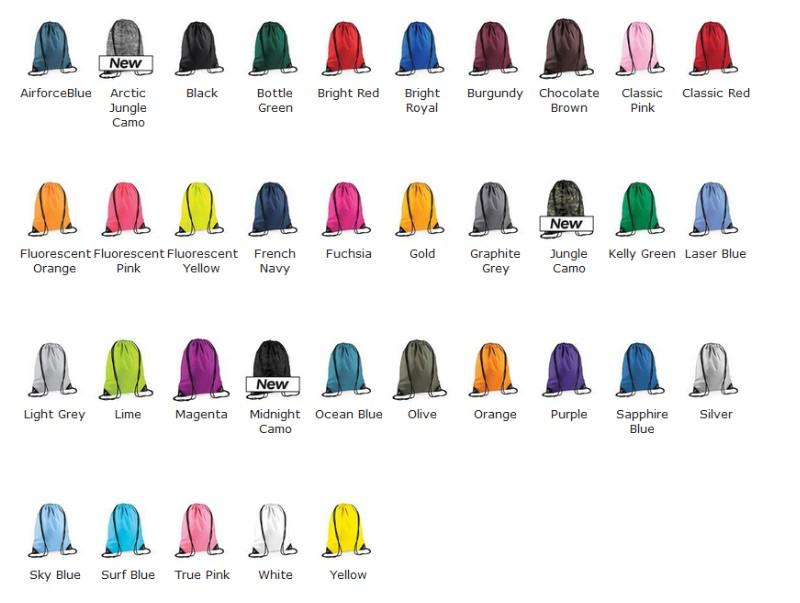 kleuren rugzak