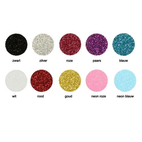 kleuren glitter