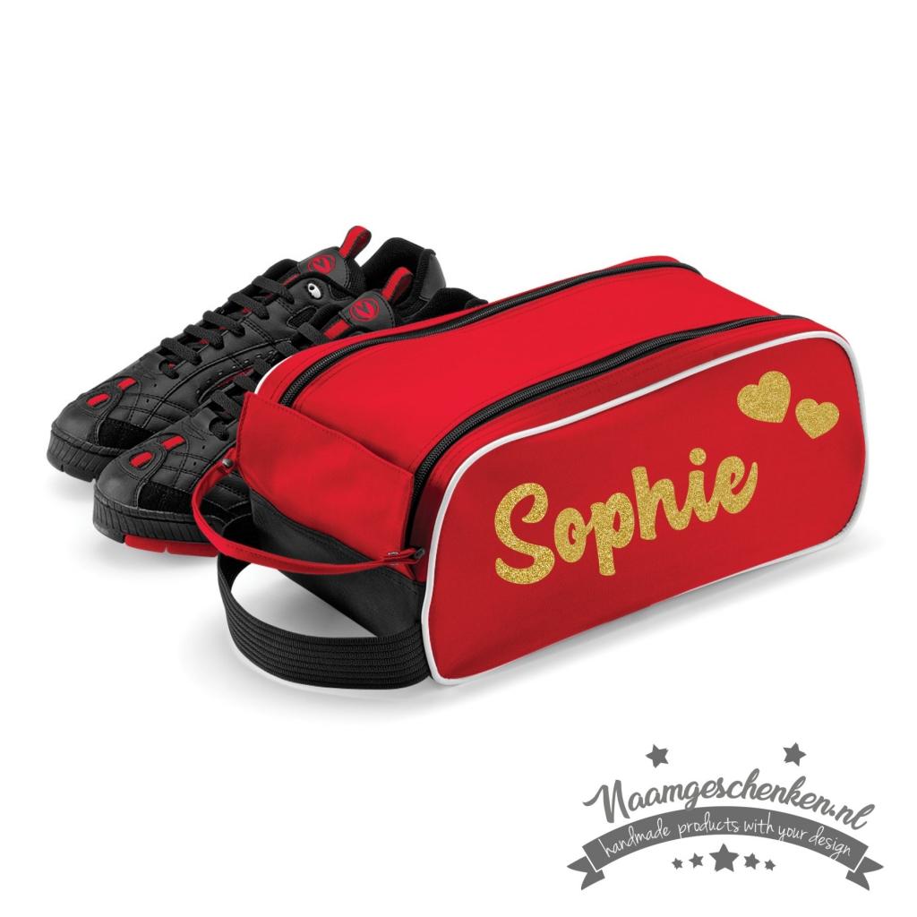 schoenentas-rood-glitter